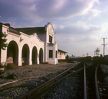 A Rail's Eye View of Whittier's Ghost Station by BodieBailey