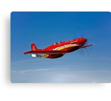 Dago Red P-51G Mustang Canvas Print