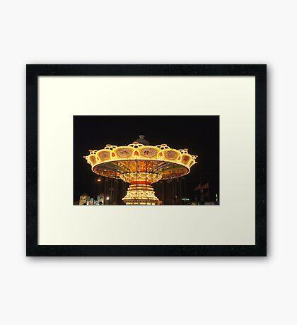 Old Town Carousel Framed Print
