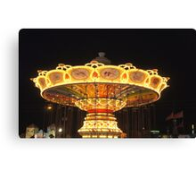 Old Town Carousel Canvas Print