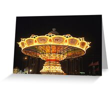 Old Town Carousel Greeting Card