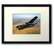 Grumman F7F Tigercat Framed Print
