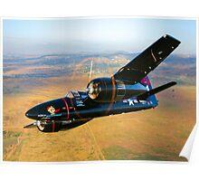 Grumman F7F Tigercat Poster