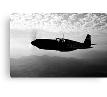 P-51A Mustang Canvas Print