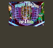 Marvel vs Capcom 2: Wanna Take You For a Ride! Womens Fitted T-Shirt