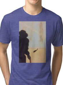 ...And the gunslinger followed Tri-blend T-Shirt