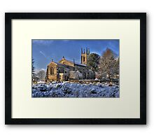 Winchester Church - HDR Framed Print