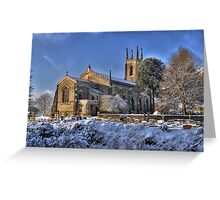 Winchester Church - HDR Greeting Card