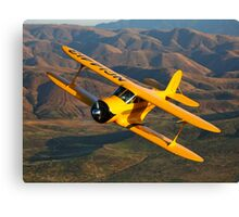 Beechcraft D-17 Staggerwing Canvas Print