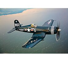 F4U-5 Corsair Photographic Print