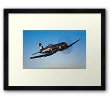 F4U-5 Corsair Framed Print