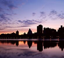 Central Park Sunrise by Nate Lam