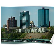 Downtown Knoxville Landscape Poster