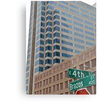 High Rise Reflection 4 - Downtown - Austin Texas Series - 2011 Metal Print