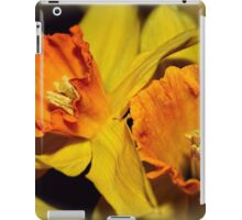 Gold and Gorgeous Daffodils iPad Case/Skin