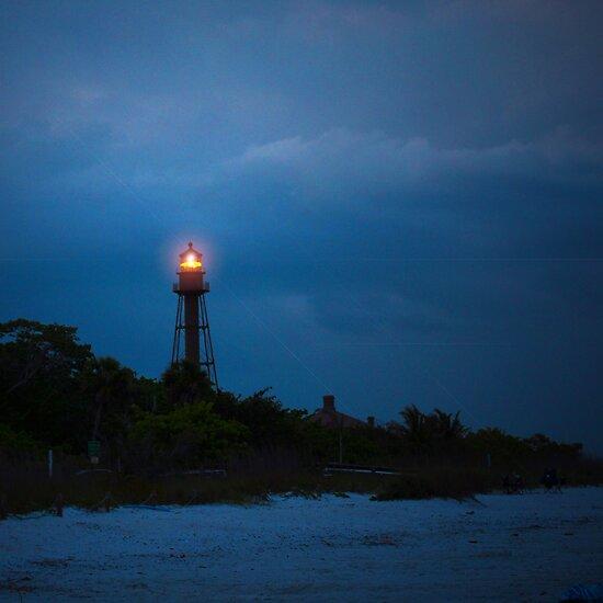 Lighthouse at Sanibel by Jaee Pathak