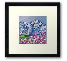 Mountain Blossoms Framed Print