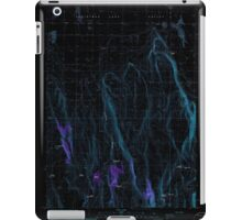 USGS Topo Map Oregon Fandango Canyon 279845 1986 24000 Inverted iPad Case/Skin