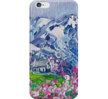 Mountain Blossoms iPhone Case/Skin