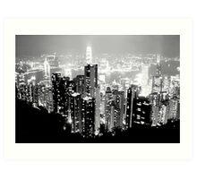 Hong Kong, China Art Print