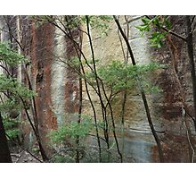 Girl in the rock - Wollemi National Park Photographic Print