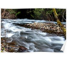 Mystic River-Harrison Hot Springs BC Poster