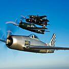 Grumman F8F Bearcats & F7F Tigercats by StocktrekImages