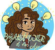 Brightest Witch by savannawhitlock