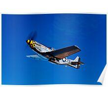 P-51D Mustang Kimberly Kaye Poster