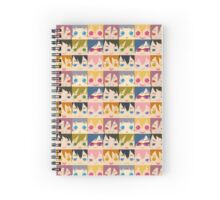 Free! Chibi Face Tile Spiral Notebook