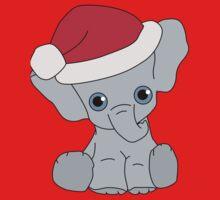 Christmas Elephant Kids Clothes