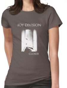 closer white Womens Fitted T-Shirt
