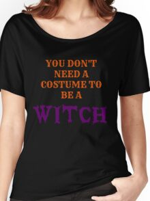 Halloween Witches  Women's Relaxed Fit T-Shirt