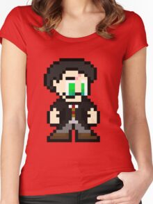 Pixel Potter Women's Fitted Scoop T-Shirt
