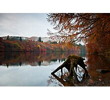 Autumn at Loch Faskally Photographic Print