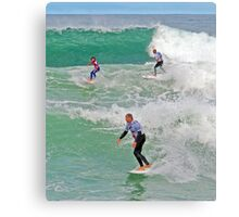 Expression Session Bells Beach Canvas Print