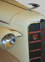1934 LaSalle Convertable by Timothy Meissen