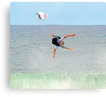 Kelly Slater gets more air at Bells Canvas Print