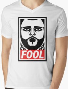 Obey Fool ! - obey parody - Mens V-Neck T-Shirt