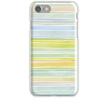 Watercolor Stripes iPhone Case/Skin