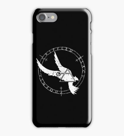 Crippled Black Phoenix 2015 A.D. (White V.1) iPhone Case/Skin