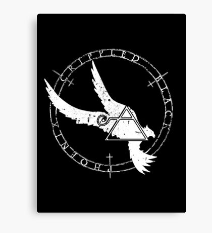 Crippled Black Phoenix 2015 A.D. (White V.1) Canvas Print
