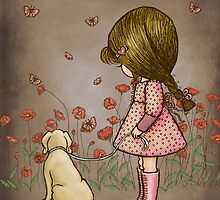 walking with the butterflies by vian