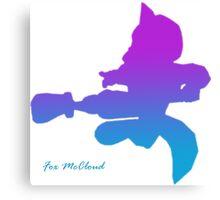 Fox McCloud - Nair Canvas Print
