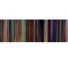 Moviebarcode: Tangled (2010) Photographic Print