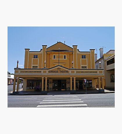 Gundagai Theatre, NSW, Australia Photographic Print