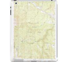 USGS Topo Map Oregon Bates 278951 1988 24000 iPad Case/Skin