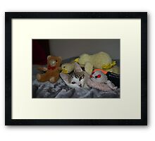 What is new? Framed Print