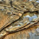 Sandstone Layers by Jason Ruth