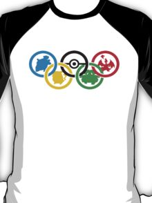 Olympic Pokemon T-Shirt